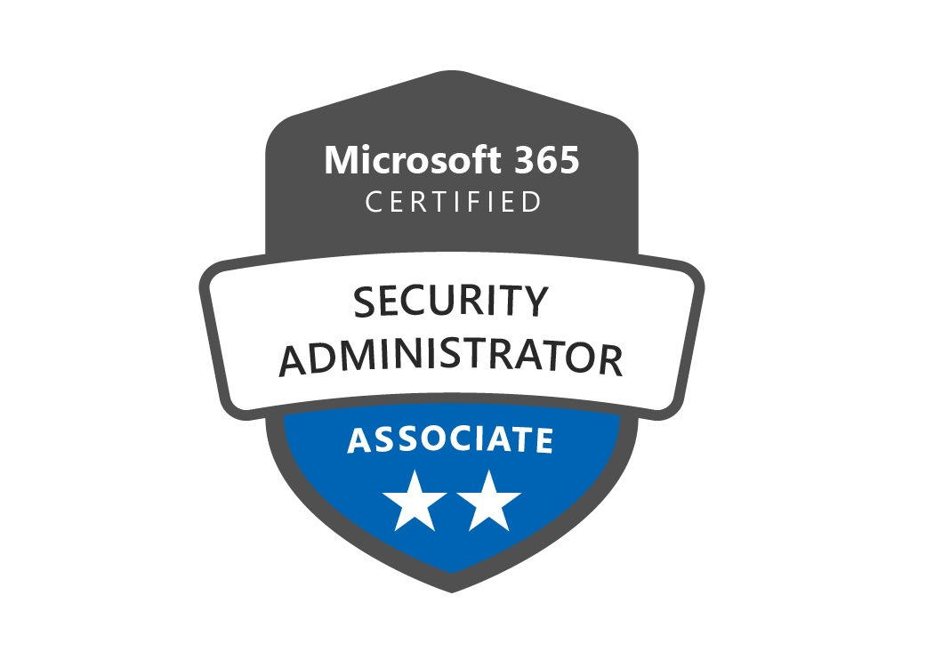 The M365 Certified Security Administrator Certification Logo