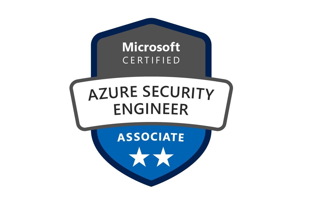 The Azure Certified Security Engineer Certification Logo