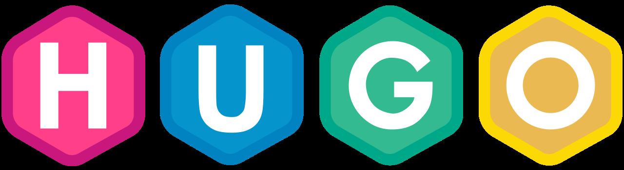 The Hugo Static Site Generator Logo